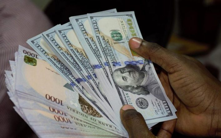 The local currency strengthened by N0.56 against the dollar, when compared to the N386.50 to a dollar that it traded on Thursday, May 21, 2020.