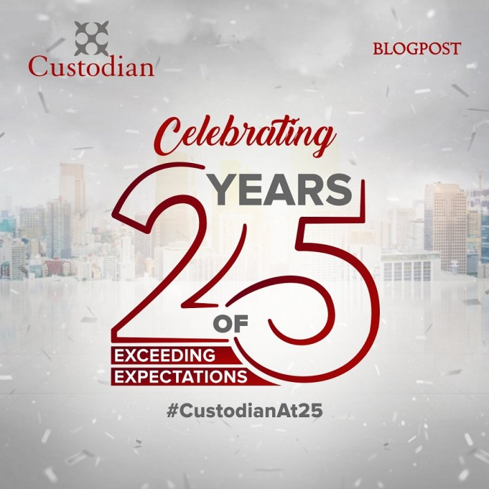 Custodian Investment Plc Exceeding expectations for 25 years.  By 1995, we would go on to commence operations fully to kick-start what has been 25 eventful years