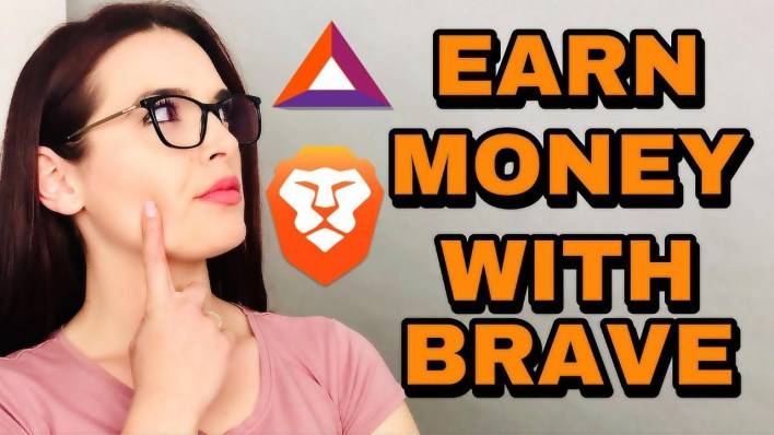 How To Make Money Online With with brave browser.  It pays publishers for their content and users for their attention while providing advertisers