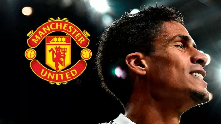 OFFICIAL: Man Utd complete £42m signing of Varane from Real Madrid