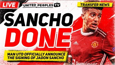 Man United Complete Signing Of Sancho