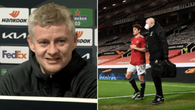 Solskjaer Reveals That Man United Star Has Not Returned To Training Because Of Injury