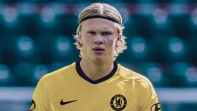 These Chelsea fans make Erling Haaland observation after new yellow kit released
