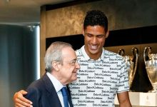 Varane Says Goodbye To His Madrid's Teammates, Heads To Old Trafford To Complete Move