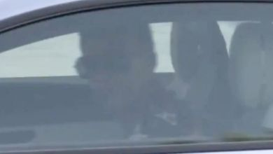 (Video) Man United target spotted driving away after not training with Real Madrid