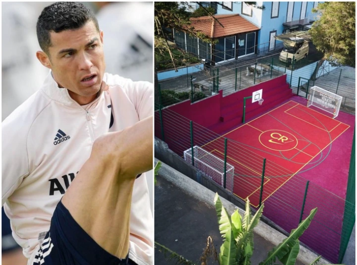 """""""This Is Where I Spent Hours As A Child Kicking A Football"""" Ronaldo Said As He Shared Photos Online"""
