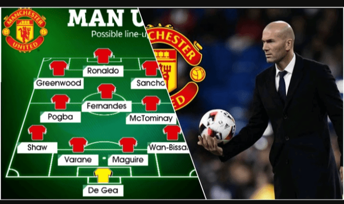 Opinion: The Manchester United Lineup that Zidane should use, if he becomes their new coach