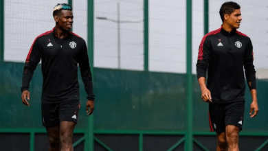 Raphael Varane Sends a Clear Message To Paul Pogba Over His Manchester United Future