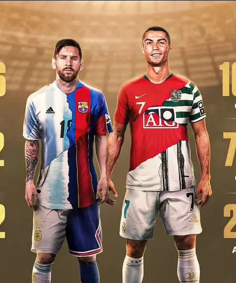 Messi Vs Ronaldo: Here Is Their Career Goals, Assists, Awards, Trophies And Head-To-Head
