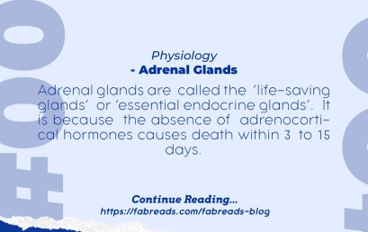 FabReads Digest with Clinical Sciences – 004 (Adrenal Glands)