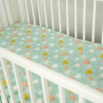 Fitted Crib Sheet Tutorial A Fitted Crib Sheet Is A Fun And Easy Way To Personalize Any Nursery Today We Ll Show You How To Create A Crib Sheet In A Few