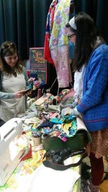 Sew Love Tea Do at Fabric-a-brac Auckland 2014
