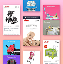 Fabrica Collective designed the brand and online presence for D'bebe