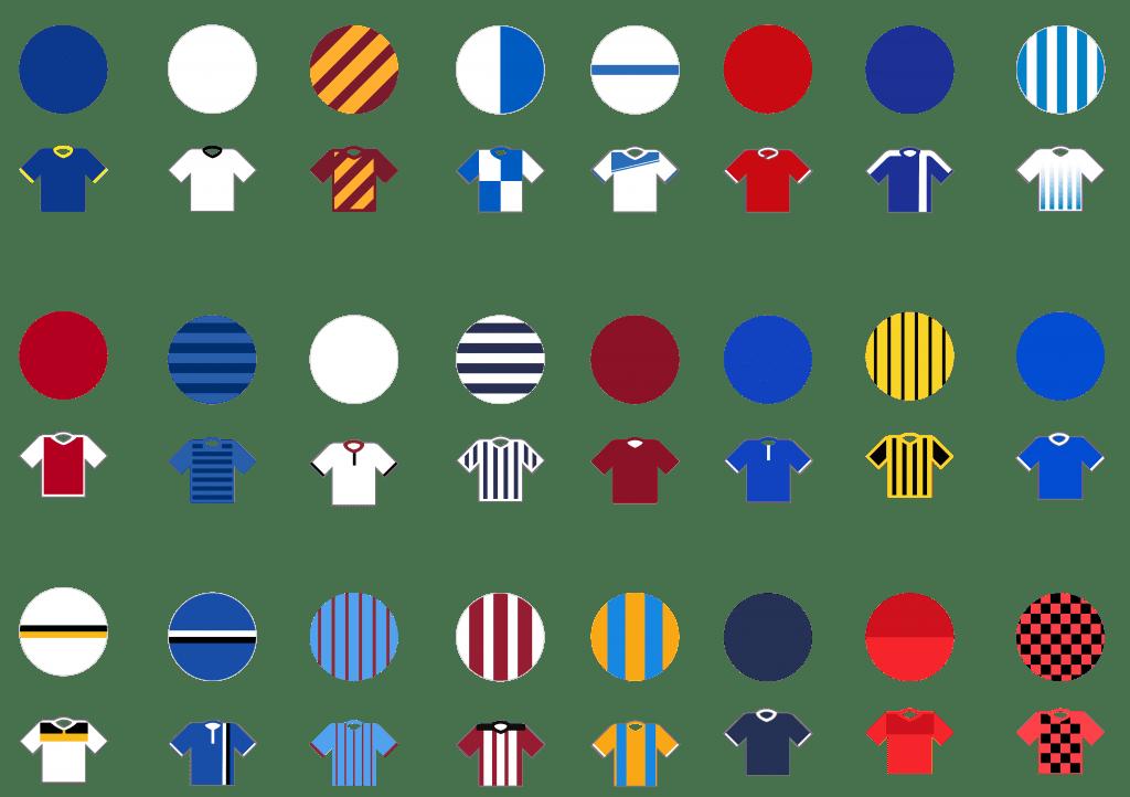 Pundit Club app shirt designs EFL League