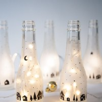 DIY Botellas luminosas