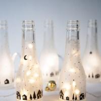 DIY Botellas luminosas
