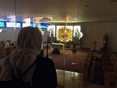 Grota laptelui - sala de rugaciuni a calugaritelor franciscane