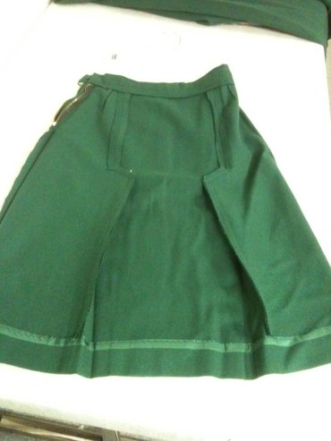 Replica uniform skirt, United Airlines 1930s (Museum of Flight collection)
