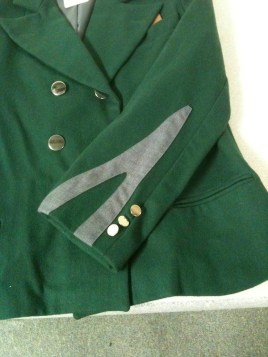 Replica uniform jacket sleeve detail, United Airlines 1930s (Museum of Flight, collection)