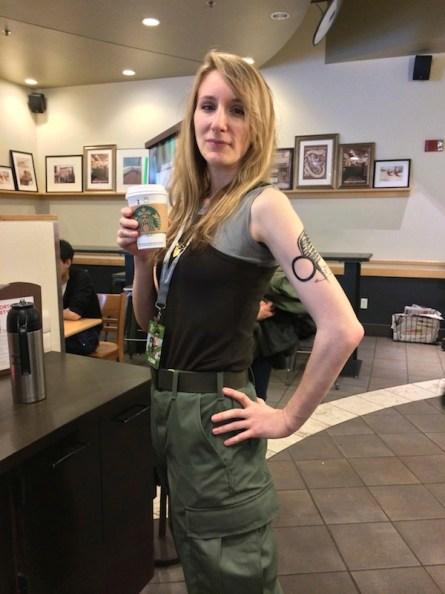 Starbuck @ Starbucks