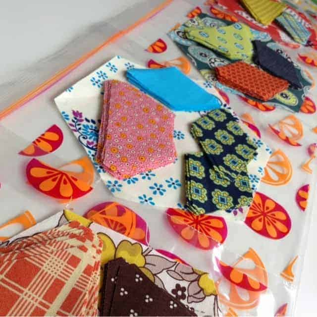 Smitten Quilt progress::: tips on always being ready to slow sew!