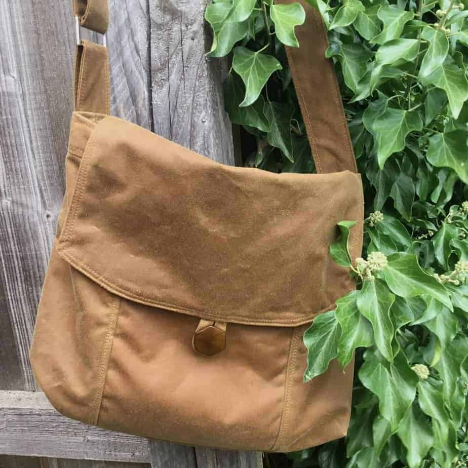 A new Messenger Bag using waxed cotton