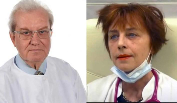 Gheorghe Mencinicopschi, grav bolnav. Este tratat de medicul Flavia Grosan. Are nevoie de oxigen pentru a respira