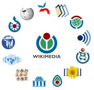 Wikimedia logo family complete 2