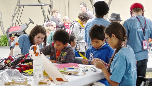 Maker Faire 2015 Photo by Fabrice Florin, freely licensed under CC-BY-SA-3.0.