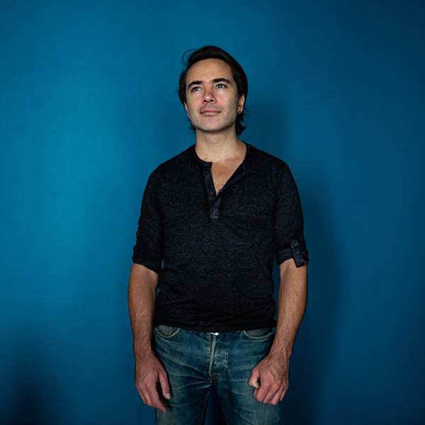 Portrait de Fabrice Moreau batteur