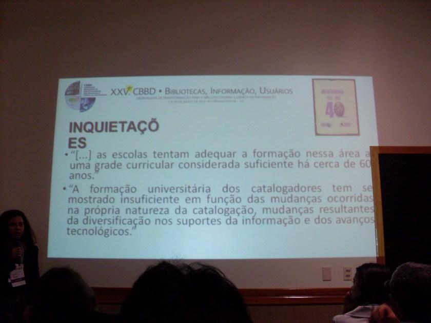 Ensino da Catalogação com o RDA e suas inovações na área de Biblioteconomia - Ana Maria Pereira