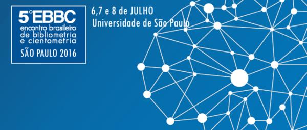 5º Encontro Brasileiro de Bibliometria e Cientometria (EBBC)