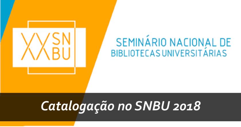 Catalogação no SNBU 2018