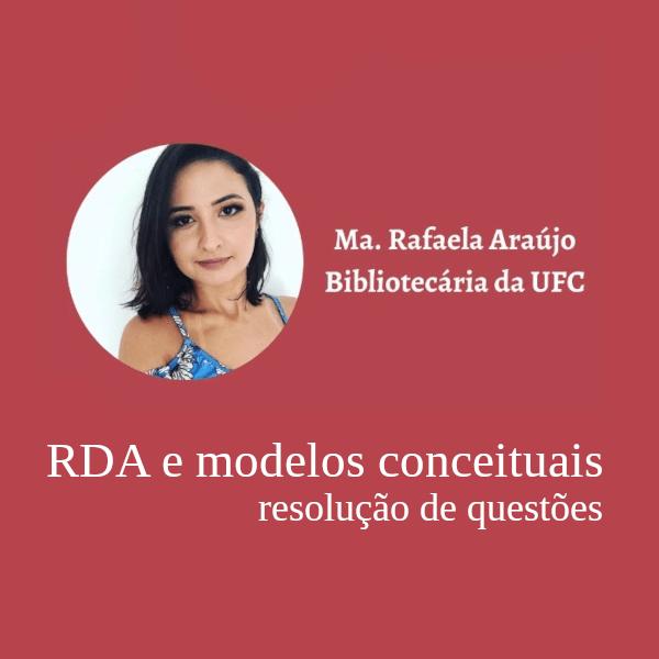 RDA e modelos conceituais: questões de concurso