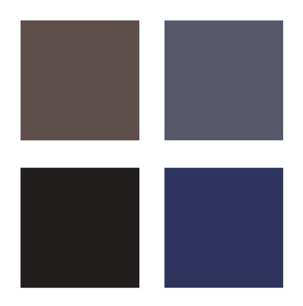 Deep neutral colour palette
