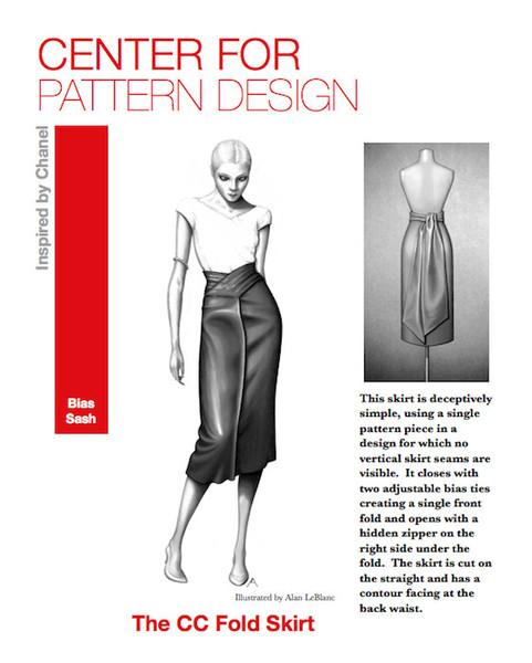 Centre for Pattern design skirt