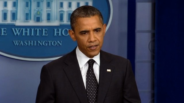 Obama wears beige – what is going on?