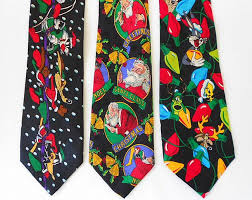 3 Christmas Novelty ties