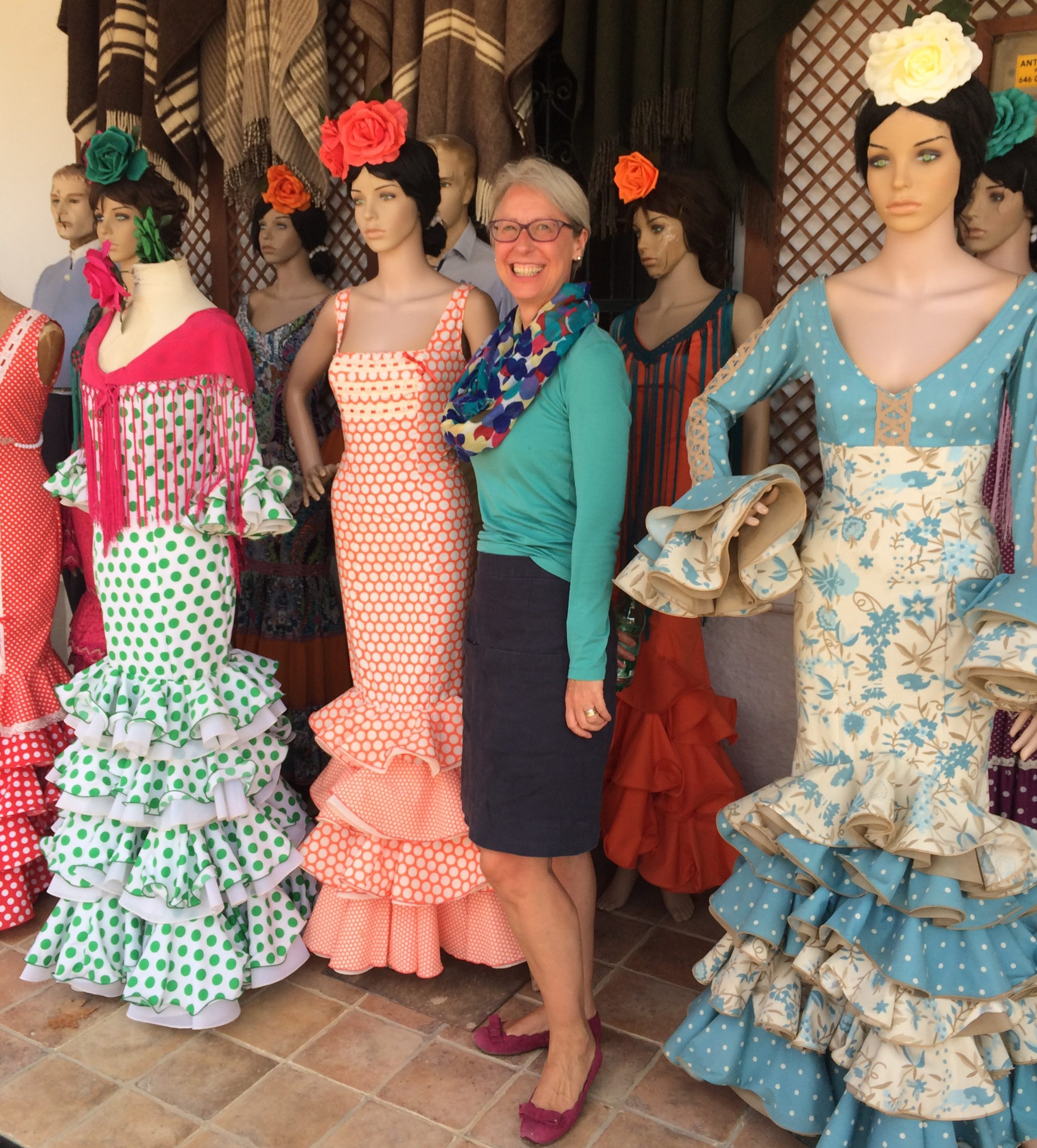 Rocio flamenco dresses