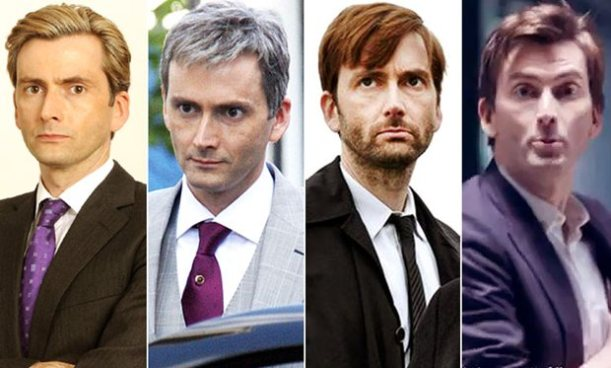 David Tennant has dyed