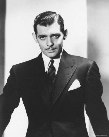 Clark Gable in Italian suit