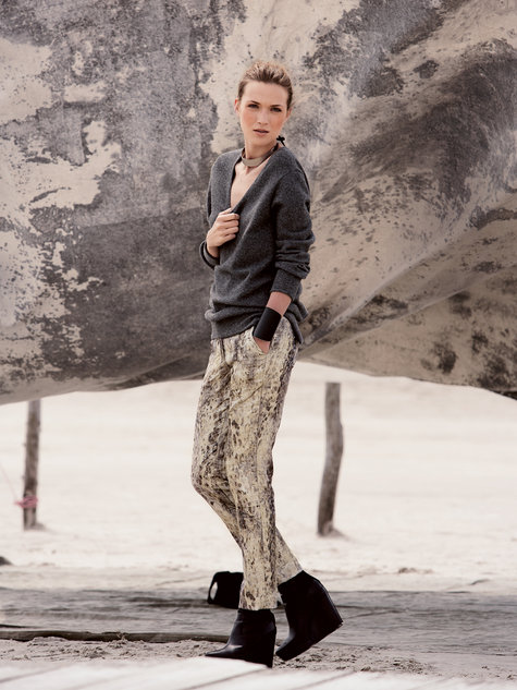 Burda trousers 11/12 107a