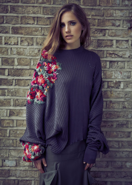 Laura Helen Searle embroidered jumper 2