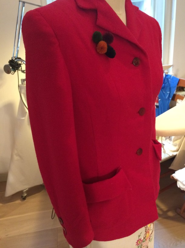 Simplicity 100 red jacket