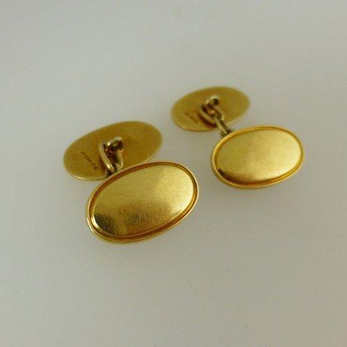 Victorian gold cufflinks