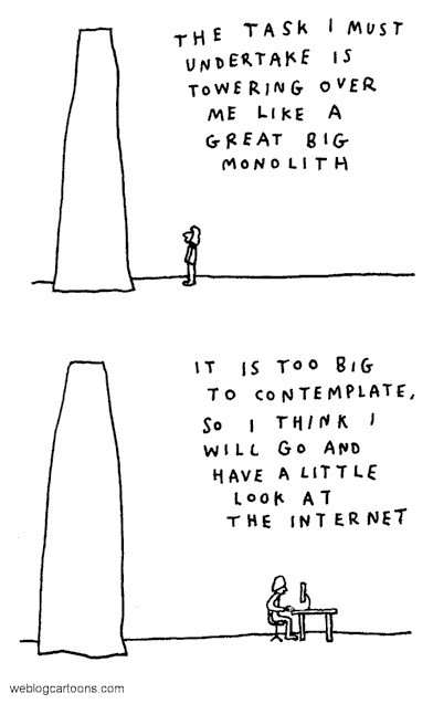 cartoon about the internet