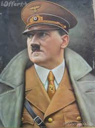 Hitler in great coat
