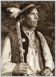 Man in Slovakian costume
