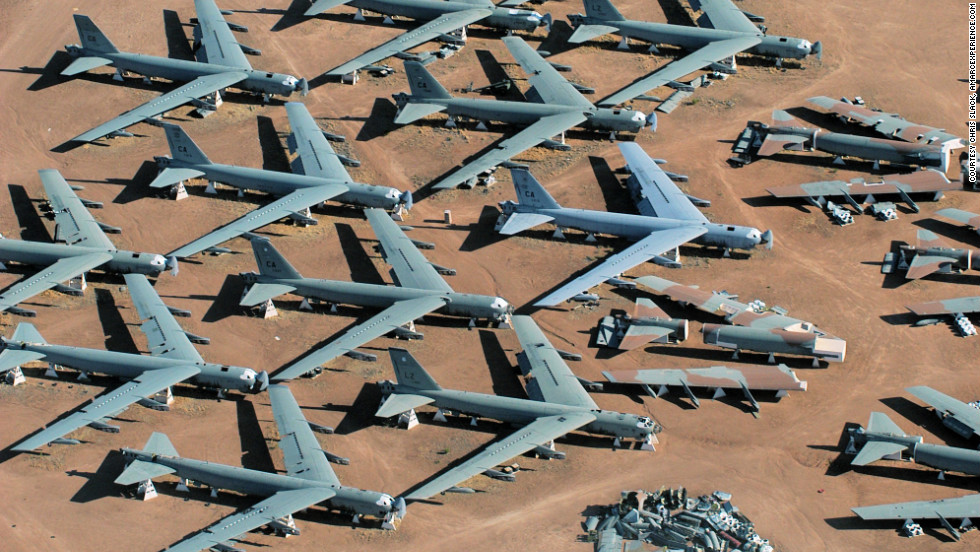 Arizona Desert Boneyard