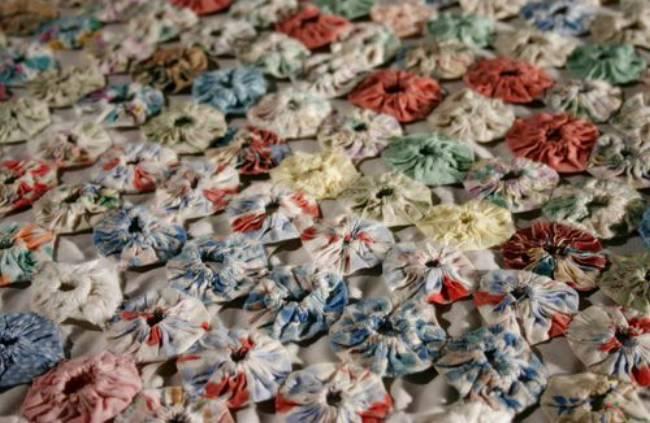 Suffold Puff quilt